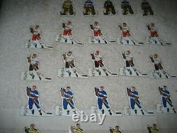 1960's Munro Table Top Hockey Boxed set of 10 Extra Teams Boston, Flyers, etc