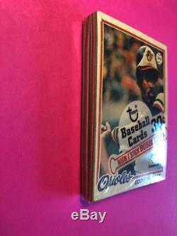1978 Topps Baseball Set SEALED CELLO BOX 1 PACK EDDIE MURRAY RC ROOKIE ON TOP