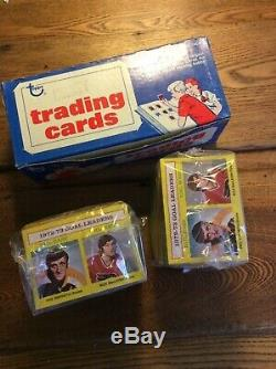 (2) 1973-74 Tops Hockey Card Sets from Vending Boxes Case