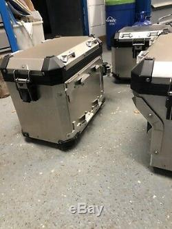 BMW R12000GS Motorcycle Pannier And Top Box Set
