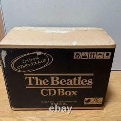 Beatles Wooden Roll Top Complete Box Set with16 cd's & Booklet 1988 with BOX