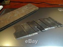 Early Stanley Plane Number 46 Set Of Cutters In The Box No Top To Box Parts