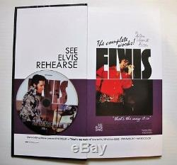 Elvis Presley That's The Way It Is The Complete Works Cd / DVD Box Set Top