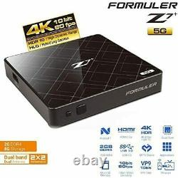 Formuler Z7+ plus 5G 4K UHD Android Set Top TV Box with Dual Band 2.4G / 5G WiFi