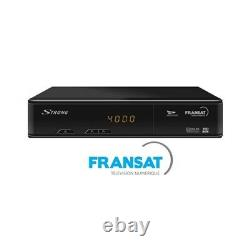 Fransat Strong SRT7407 HD Set Top Box & Card French TV in UK No Subscription