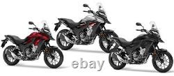 HONDA CB 500 X 2018 TOP BOX complete set GIVI E300NT2 CASE + 1121FZ RACK CB500X