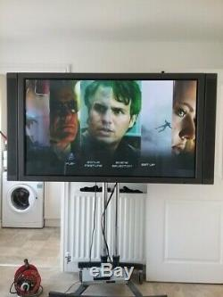 HUGE 61 inch Plasma. Features include PiP. With remote & FREE Humax Set Top Box