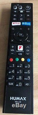 Humax FVP-5000T Smart Freeview HD Set Top Box & Recorder and 1TB HDD Boxed