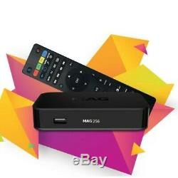 IPTV SET-TOP BOX MAG 256 Support HEVC Technology High Quality Sound and Image