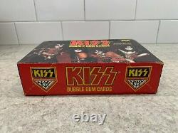 Kiss Set Of 36 X Bubble Gum Cards -1978 Vintage Counter Top Box Beautiful
