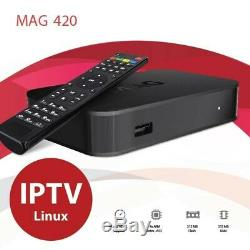 LATEST RELEASE Mag 420 4K Set Top Box. 5000 FREE TO AIR CHANNELS AND MOVIES