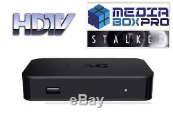 MAG322W1 IPTV Set Top Box With 12 Month's Platinum Gift Warranty. LIMITED LEFT