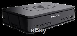 Mag 351/352 Set Top Box IPTV Linux 4K UHD HEVC In-built Wifi and Bluetooth