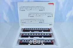 Märklin 43513 Car Set Sncb, Unrecorded, Top Condition, Mint Condition Boxed