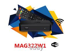 NEW 2020 MAG322W1 by INFOMIR MAG 322 W1 IPTV Set-Top-Box Built in wifi+HDMI