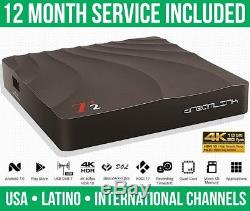 NEW Dreamlink T2 IPTV SET TOP BOX With12 MONTH SERVICE FAST SHIPPING