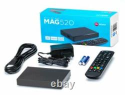 NEW MODEL 4K Mag 520 Set-top box 100% Genuine with 9000 channels