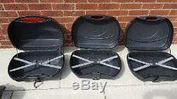 Nonfango Motorcycle Luggage Full Set with frame for Bandit 600