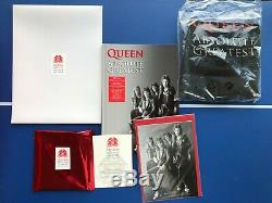Queen Absolute Greatest UK DELUXE box set limited to 500 TOP condition