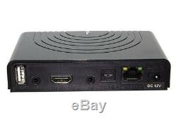 Red360 Mega HEVC IPTV Set Top Box with 1 year subscription! Free Delivery