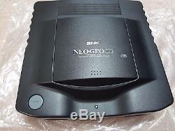 SNK NEO GEO CD Console System TOP LOADING game box set Tested Work