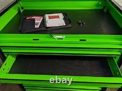 Snap On 36in KRL Masters Series Rollcab Tool Box Top Stack Extreme Green KRL756