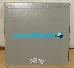 TOP COPY WOODSTOCK MFSL BOX SET withPROGRAM JAPAN JIMI HENDRIX CSNY AUDIOPHILE NM