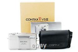 TOP MINT BOX SET Contax TVS iii Point&Shoot 35mm Film Camera From Japan 1273