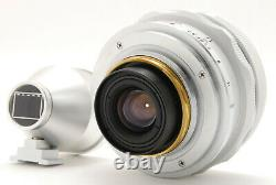 TOP MINT IN BOX AVENON SUPER WIDE 21MM F2.8 L39 MOUNT LENS With 21MM FINDER SET