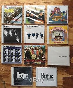 The Beatles Wooden Roll Top CD Box Set with 11 new and unwrapped CDs JAPAN
