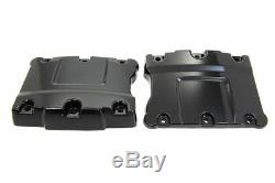 Top Rocker Box Black Cover Set for Harley Davidson by V-Twin