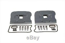 Top Rocker Box Cover Set Chrome, for Harley Davidson, by V-Twin