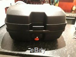 Top box and Panniers set with a full set of keys