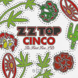 ZZ Top SEALED and OUT OF PRINT! Cinco The First Five LPs 5LP BOX SET